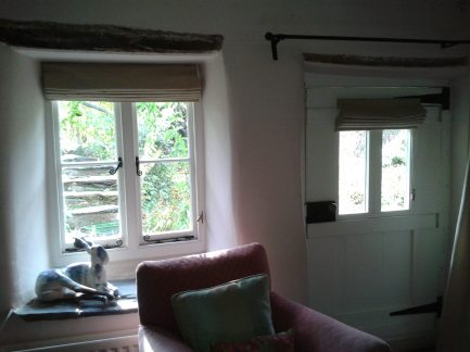 View from guest sitting room